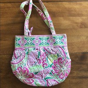 Vera Bradley Morgan purse in retired Petal Pink